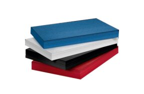 CARTON Α4 230gr LEATHER LOOK SET 10 SHEETS